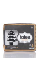 Mens Totes Original Novelty Socks with Mug Gift Set Packaging Image