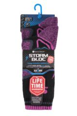 Ladies 2 Pair Storm Bloc with BlueGuard Wool Blend Socks Packaging Image