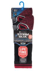 Mens 2 Pair Storm Bloc with BlueGuard Aerobic Socks Packaging Image