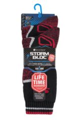 Mens 2 Pair Storm Bloc with BlueGuard Wool Blend Socks Packaging Image