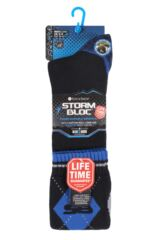 Mens 1 Pair Storm Bloc with BlueGuard Long Cotton Country Socks Packaging Image