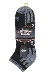 Mens 3 Pair Storm Bloc Trainer Socks Packaging Image