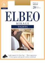 Ladies 1 Pair Elbeo Mirage Light Support Tights Packaging Image