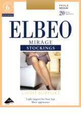 Ladies 1 Pair Elbeo Mirage Light Support Stockings Product Shot