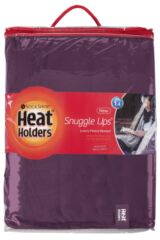 SockShop Heat Holders Snuggle Up Thermal Blanket In Mulled Wine Packaging Image