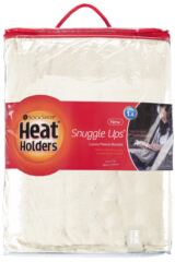SOCKSHOP Heat Holders Snuggle Up Thermal Blanket In Snow Fall Packaging Image
