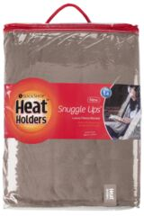 SockShop Heat Holders Snuggle Up Thermal Blanket In Winter Fawn Packaging Image