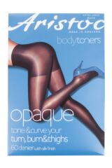 Ladies 1 Pair Aristoc 60 Denier Opaque Bum, Tum and Thigh Toner Tights Product Shot