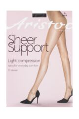 Ladies 1 Pair Aristoc Light Compression Support Sheer Tights Packaging Image