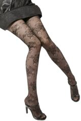 Ladies 1 Pair Trasparenze Argo Floral Sheer Tights 25% OFF
