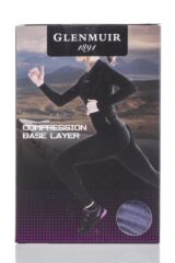 Ladies 1 Pack Glenmuir Compression Base Layer Leggings Packaging Image