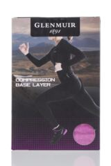 Ladies 1 Pack Glenmuir High Neck, Long Sleeved Compression Base Layer T-Shirt Packaging Image