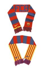 Mens, Ladies and Kids Nike Barcelona Supporters Scarf 75% OFF