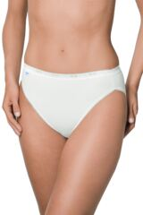 Ladies 3 Pair Sloggi Basic Tai Briefs Leading Image