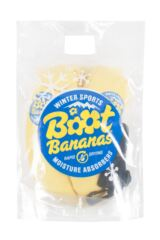 Mens and Ladies 2 Pack Boot Bananas Winter Sports Moisture Absorbers Packaging Image