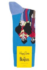 Mens and Ladies 1 Pair Happy Socks The Beatles Pepperland Cotton Socks Product Shot