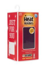Ladies 1 Pair Heat Holders Original Thermal Socks with Gift Box Packaging Image