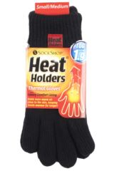 Mens 1 Pair SockShop Heat Holders Microluxe Gloves Packaging Image