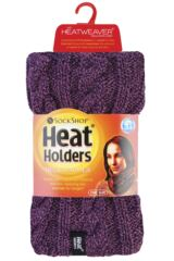 Ladies 1 Pack Heat Holders 3.5 Tog Heatweaver Yarn Neck Warmer Product Shot