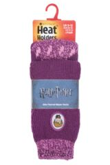 Kids 1 Pair Heat Holders Harry Potter Thermal Socks with Grips Packaging Image