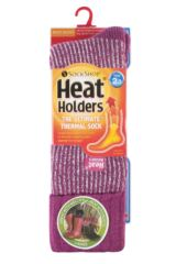 Ladies 1 Pair SockShop Heat Holders 2.3 TOG Thermal Boot Socks Packaging Image