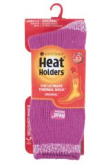Ladies 1 Pair SockShop Heat Holders Twist Heel and Toe Socks Packaging Image