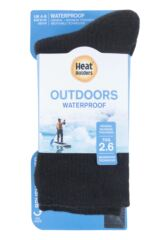 Mens and Ladies 1 Pair Heat Holders Waterproof 2.6 Tog Socks Packaging Image