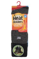 Mens 1 Pair SockShop Heat Holders 2.3 TOG Thermal Boot Socks Product Shot