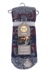 Mens 1 Pair Heat Holders Oakley Lounge Socks Packaging Image