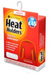 Mens SOCKSHOP Heat Holders Long Sleeved Thermal Vest Packaging Image