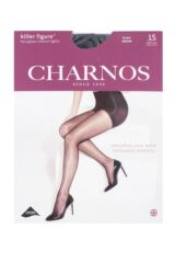 Ladies 1 Pair Charnos Killer Figure Hourglass Control Tight Packaging Image