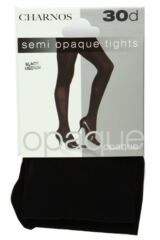 Ladies 1 Pair Charnos 30 Denier Semi Opaque Tights Packaging Image