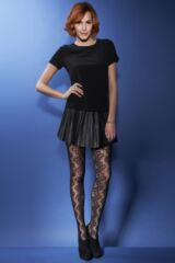 Ladies 1 Pair Charnos Scroll Net Tights 75% OFF