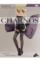 Ladies 1 Pair Charnos 10 Denier Elegance Sheer Hold Ups Packaging Image