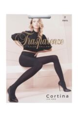Ladies 1 Pair Trasparenze Cortina 100 Denier Opaque Tights Packaging Image