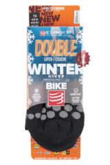 Compressport 1 Pair High Cut V2.1 Winter Bike Socks Packaging Image