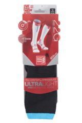 Compressport 1 Pair Full Length Ultralight Racing Compression Socks Packaging Image