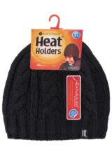 Ladies 1 Pack Heat Holders 3.4 Tog Heatweaver Yarn Hat Product Shot