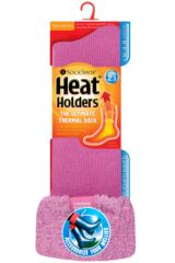 Ladies 1 Pair SockShop Wellington Boot Heat Holders Thermal Socks Product Shot