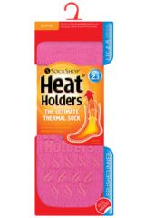 Ladies 1 Pair SockShop Slipper Heat Holders Thermal Socks Product Shot