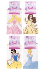 Girls 4 Pair SockShop Disney Princess Socks Product Shot