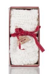 Ladies 1 Pair Totes Super Soft Sequin Fluffy Bed Socks Product Shot