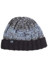 Mens Urban Knit Rugged Cotton Rich Beanie 75% OFF