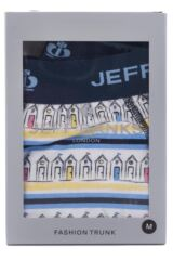 Mens 1 Pack Jeff Banks Bolton Beach Hut Trunks 33% OFF