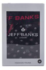 Mens 1 Pack Jeff Banks Wigan Circle Dot Boxer Shorts 33% OFF
