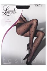 Ladies 1 Pair Levante Alba Elegant Spots Tights 33% OFF