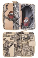 Ladies Bewitched Twit-Twoo Funky Owl Design Wallet Purse 75% OFF