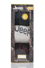 Mens 3 Pair Jeep Luxury Terrain Socks Gift Box Product Shot