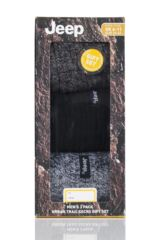 Mens 3 Pair Jeep Terrain Leisure Socks Gift Box Packaging Image