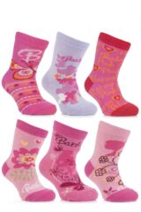 Girls 4 Pair TM Barbie Socks